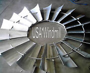 Aermotor Windmill Wheel For 8ft A702 Models New With Spokes Sections Assembled