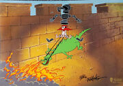 The Big Sneeze Hand Signed Friz Freleng Limited Edition Cel Looney Tunes
