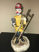 Rare Ron Lee Firefighter Figurine Signed By Ron Lee And Jerry Lewis 7 Of 200