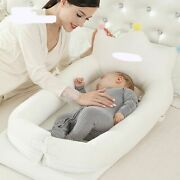 Baby Co Sleeping Crib Bed Portable Baby Crib Foldable Mobile Car Bed Travel Nest