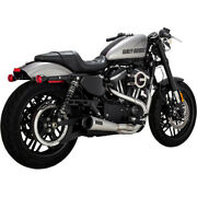 Vance And Hines 27627 Upsweep Stainless 2 Into 1 For Harley Sportster 2004-2020 Xl