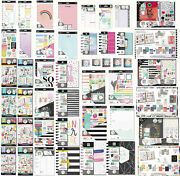 Happy Planner Create 365 Me And My Big Ideas Pen+gear Paper Stickers Washi Tape