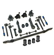 23 Pc Center Link Idler And Pitman Arm Ball Joints Sway Bar Kit For Chevrolet Gmc