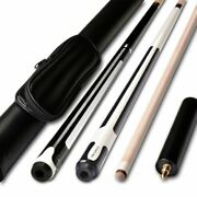 Billiards Snooker Maple Pool Cue Stick With Cue Tip For Nine-ball With Extension