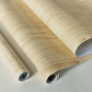 9ft Roll Maple Wood Grain Self Adhesive Contact Paper Shelf Liner