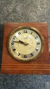 Antique Hammond Synchronous Wooden Clock Electric