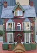 Dated 1869 Antique Dollhouse Tin Roof From Jackie Mcmahan Angeland039s Attic Museum