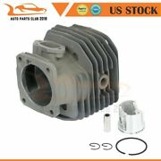 Cylinder Piston Kit 48mm Fit For Husqvarna 261 262 262xp Chainsaw Rings