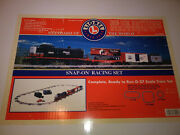 Lionel / Snap On Racing 2001 Model Train Set New In The Box