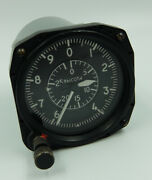 Vd-28 Vintage Ussr Russian Military Aircraft Altimeter 0847124
