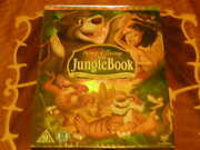 Walt Disney Special Sealed Jungle Book Dvd 40th Year Edition Limited Cards Dvd