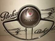 1948-50 Packard Custom 8 Horn Button And Ring