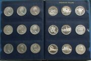 1971- 2000 Silver Canada 1 Dollar 30 Coins Commemorative Mint State Pl And Proof