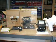 New Sony Dxc-d55ws 169 Widescreen Or 43 Switchable Camera Head 2 View Finders