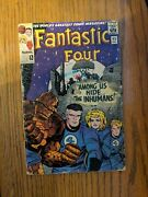 Fantastic Four 45 Marvel 65first Appearance Of The Inhumans
