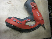 Hilti Fastening Gas Power Actuated Nail Gun Gx 120me Tested Works Great