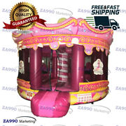 16x13ft Inflatable Princess Bouncy House Carnival Moonwalk With Air Blower