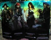 Pirates Of The Caribbean Store Display Original In Excellent Condition 5 Ft Mib