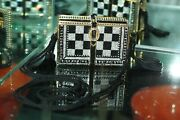 Judith Leiber Crystal Stack Of Books Indy 500 Racing Minaudiere Clutch