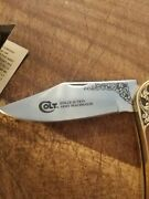Franklin Mint Collector Knives Colt Single Action Army Peacemaker Knife