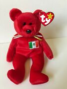 Rare 1999 Ty Beanie Baby Osito The Red Mexican Bear Andndash Ships Free Mwmt And Rare