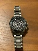 Seiko Astron Sbxb045 Cal.8x53 Box Solar Mens Watch Authentic Working