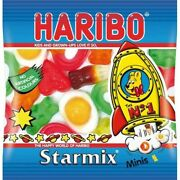 20 X 16g Treat Size Bags Of Haribo Starmix Minis Jelly Sweets Party Bags