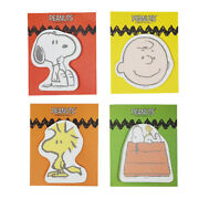 1x30sh Peanuts Snoopy Charlie Brown Sticky Notes Memo Pad Bookmark Index Sticker