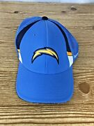 Chargers Reebok Onfield Cap Hat S/ M Blue