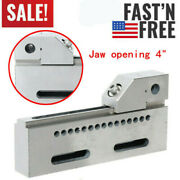 Wire Edm High Precision Vise Stainless Steel 4 /100mm Jaw Opening Clamp Tool