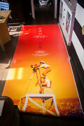Cannes Film Festival 2019 4x10 Ft Double Bus Shelter Original Movie Poster
