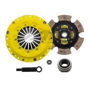 Act Clutch Hd Pressure Plate W/ 6 Puck Sprung Disc For 94-2001 Acura Integra
