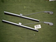 Nos Vw Bug Swf Wiper Bases Arms N Blades Part 113 955 422 A 1958 To 1964