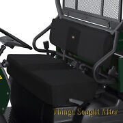 Black Seat Cover Set For 2013-2014 Kawasaki Mule 4000 And 4010 Diesel Se Cloth