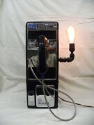 Illinois Bell Pay Phone Converted To Steampunk 21 Table Lamp Bob Steinmetz