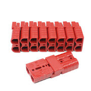 10 X Battery Red Quick Connect Disconnect Plug 50a 20 Pcs 6awg Wire Ends