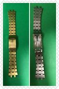 Authentic Vintage Swiss Made Ss Gold Plated Breitling Bracelet For Watches R5