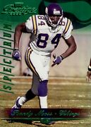 Randy Moss 2000 Playoff Prestige Spectrum 105 Green 12/25 Vikings 57821