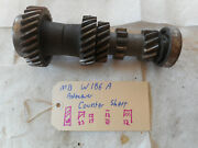 Mercedes Benz Adenauer W186 W186a Transmission Counter-shaft And Gears