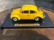 Model Car, Volkswagen Beetle,1967, Diecast,classic Yellow, Really Cool