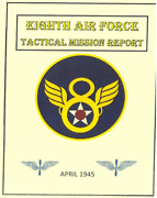 Ww Ii Us Army 8th Air Corps April 1945 Tactical Mission Report History Book