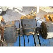 Caterpillar T40d 4000lbs Forklift Front Differential Axle Chunk W/ Wheels Cat