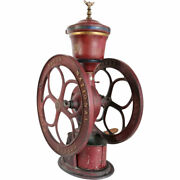 Large Antique American Woodruff And Edwards Elgin National Iron No. 44 Coffee Mill