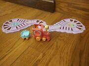 My Little Pony Ponyville Friendship Express Train With Track.
