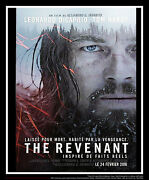 The Revenant 4x6 French Grande Rolled Movie Poster Original 2016