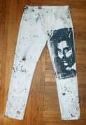 2017 Off-white Complexcon Jeans Mens 34x34 Custom 1of1 Virgil Abloh