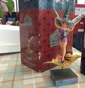 V V Rare Disney Tradition Andlsquotinkerbell-pixie-be-witchedandrsquo 8.5andrdquo Halloween Boxed
