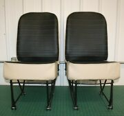 Piper Pa-28 Front Seats Reupholstered
