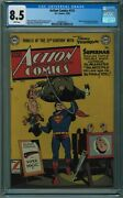 Action Comics 151 Cgc 8.5 4th Best Cgc Copy White Pages 1950