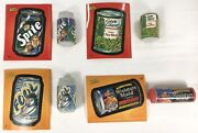 2011 Wacky Packages Erasers Lot 4 W/ Stickers 9 11 15 19 Topps